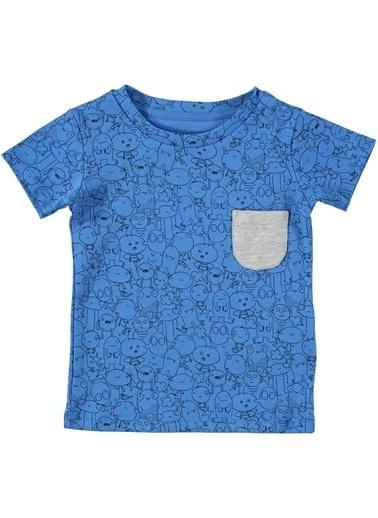 Wakamono Organik T-Shirt Mavi